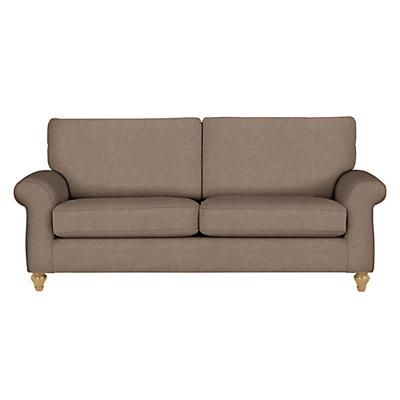 John Lewis Hannah Grand 4 Seater Sofa, Light Leg