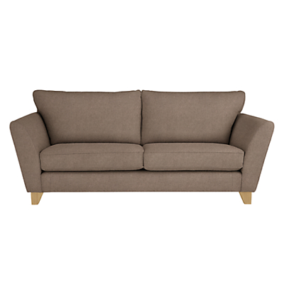 John Lewis Oslo Large 3 Seater Sofa, Light Leg