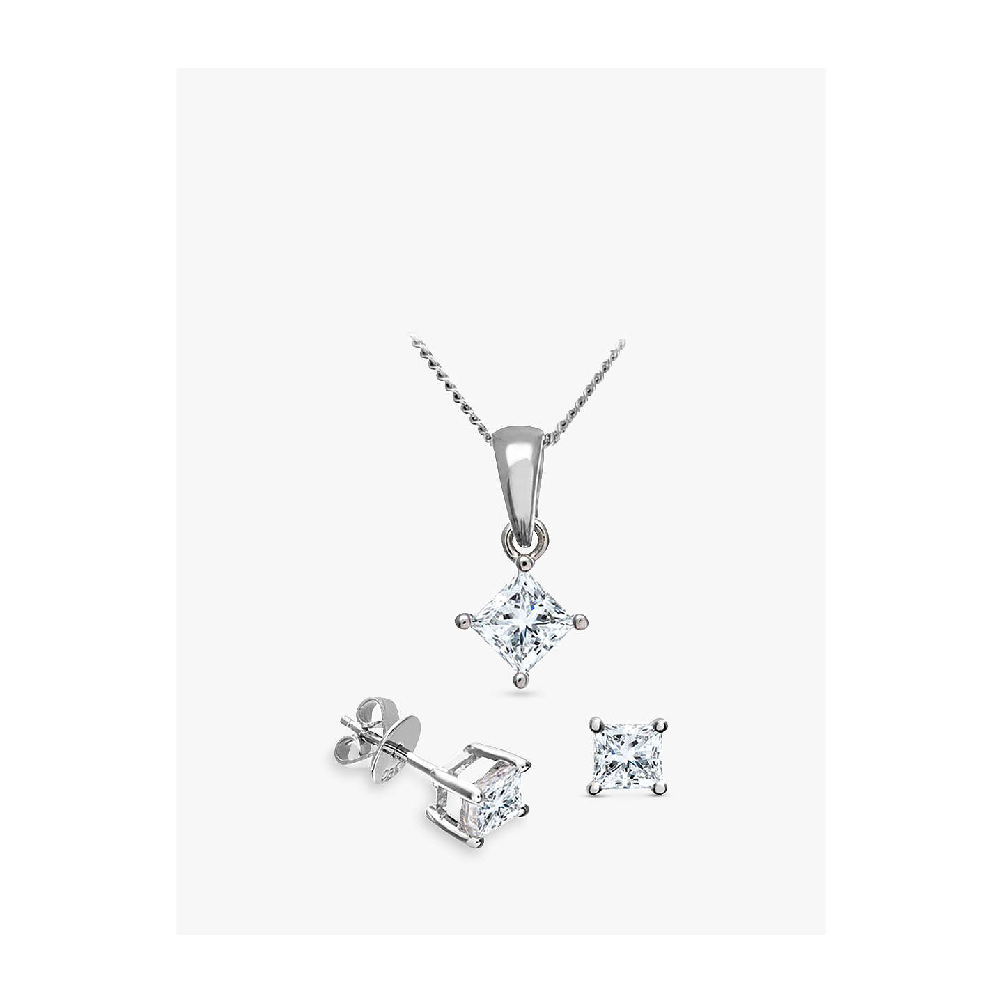 necklace cut diamond carat one miracle smart princess pendant ideas