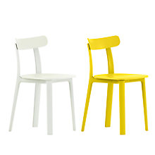 Buy Vitra All Plastic Chair, Set of 2 Online at johnlewis.com