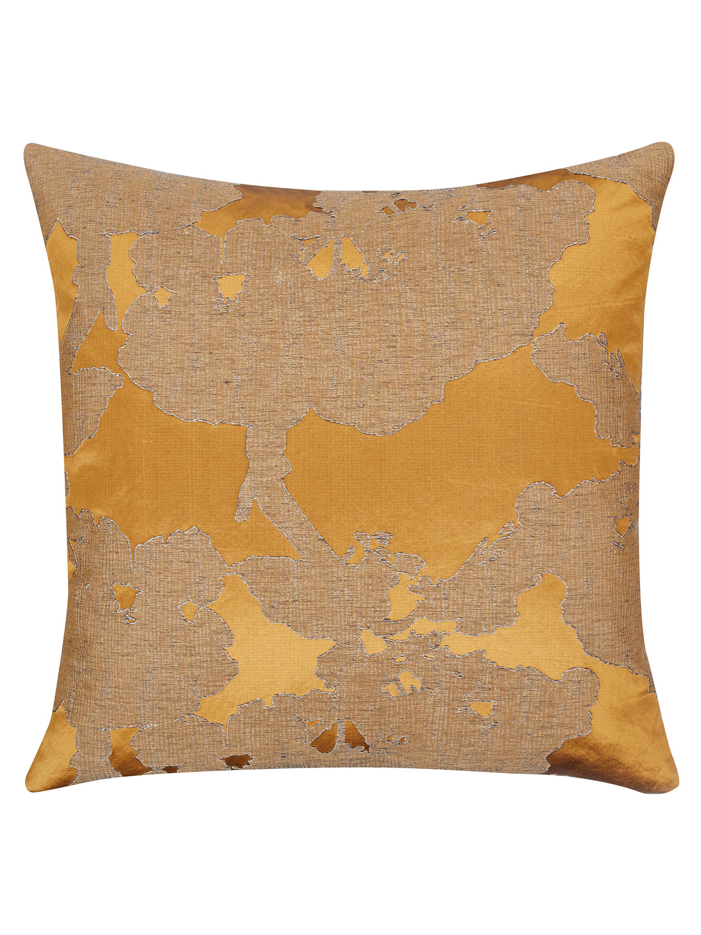 BuyJohn Lewis Komako Tree Cushion, Gold Online at johnlewis.com