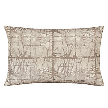 Buy John Lewis Kyla Cushion, Silver Online at johnlewis.com
