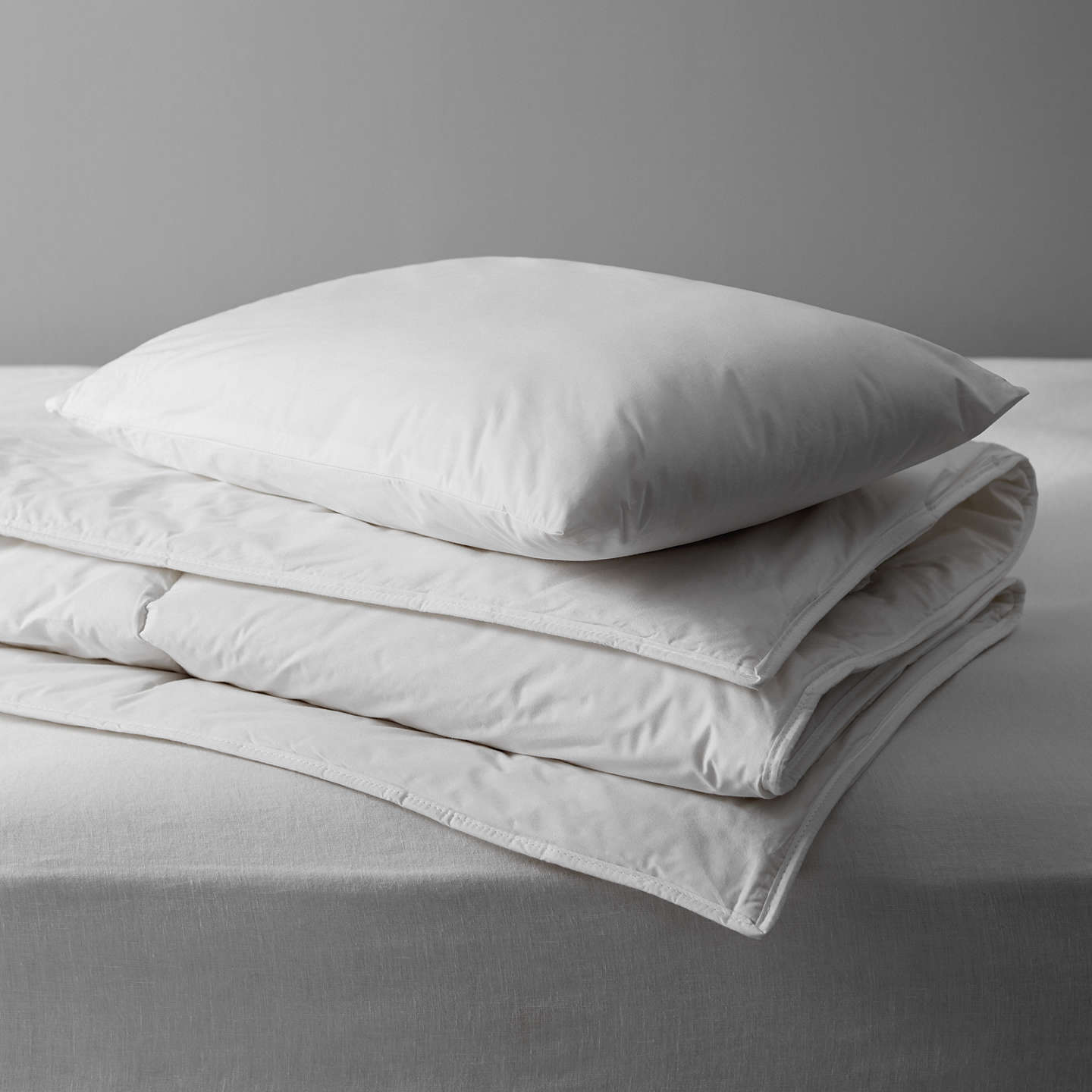 BuyDevon Duvets Little Lana Natural Wool Duvet and Pillow Set Online at johnlewis.com