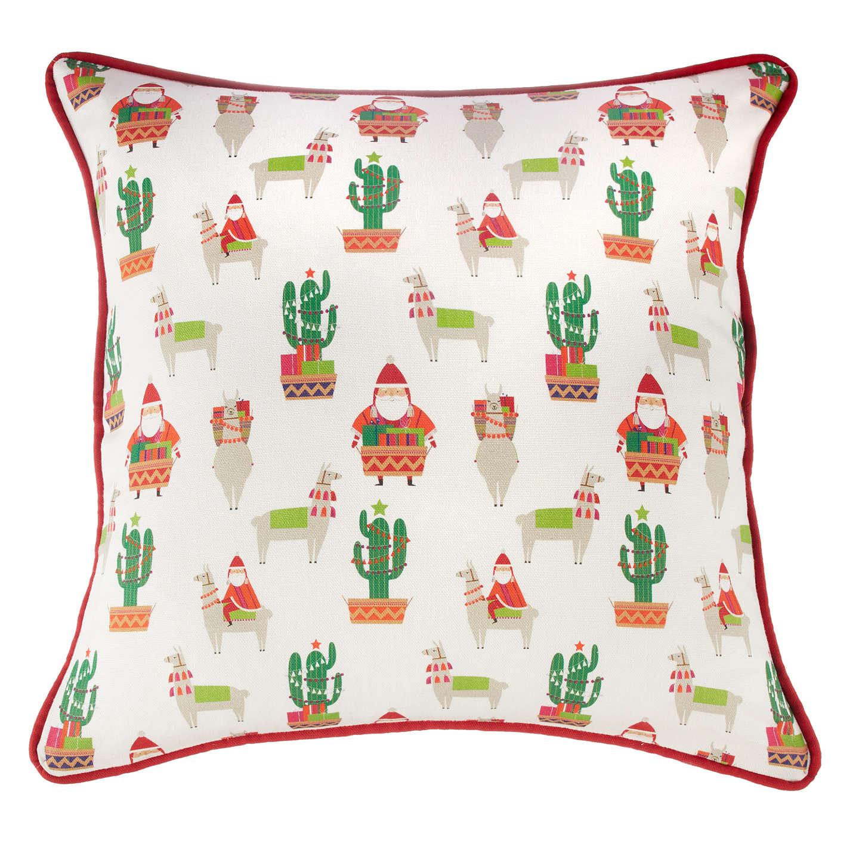 Buylittle Home At John Lewis Lima Llama Print Cushion Online