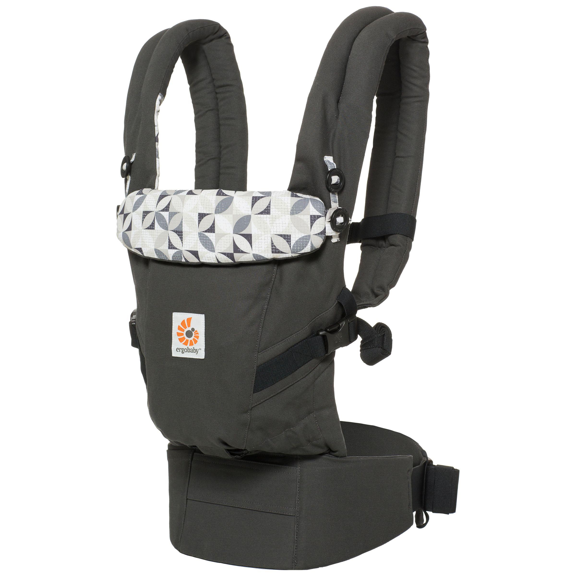 Ergobaby Adapt Baby Carrier Graphic Grey