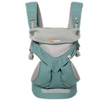 Buy Ergobaby 360 Cool Air Baby Carrier, Mint Grey Online at johnlewis.com