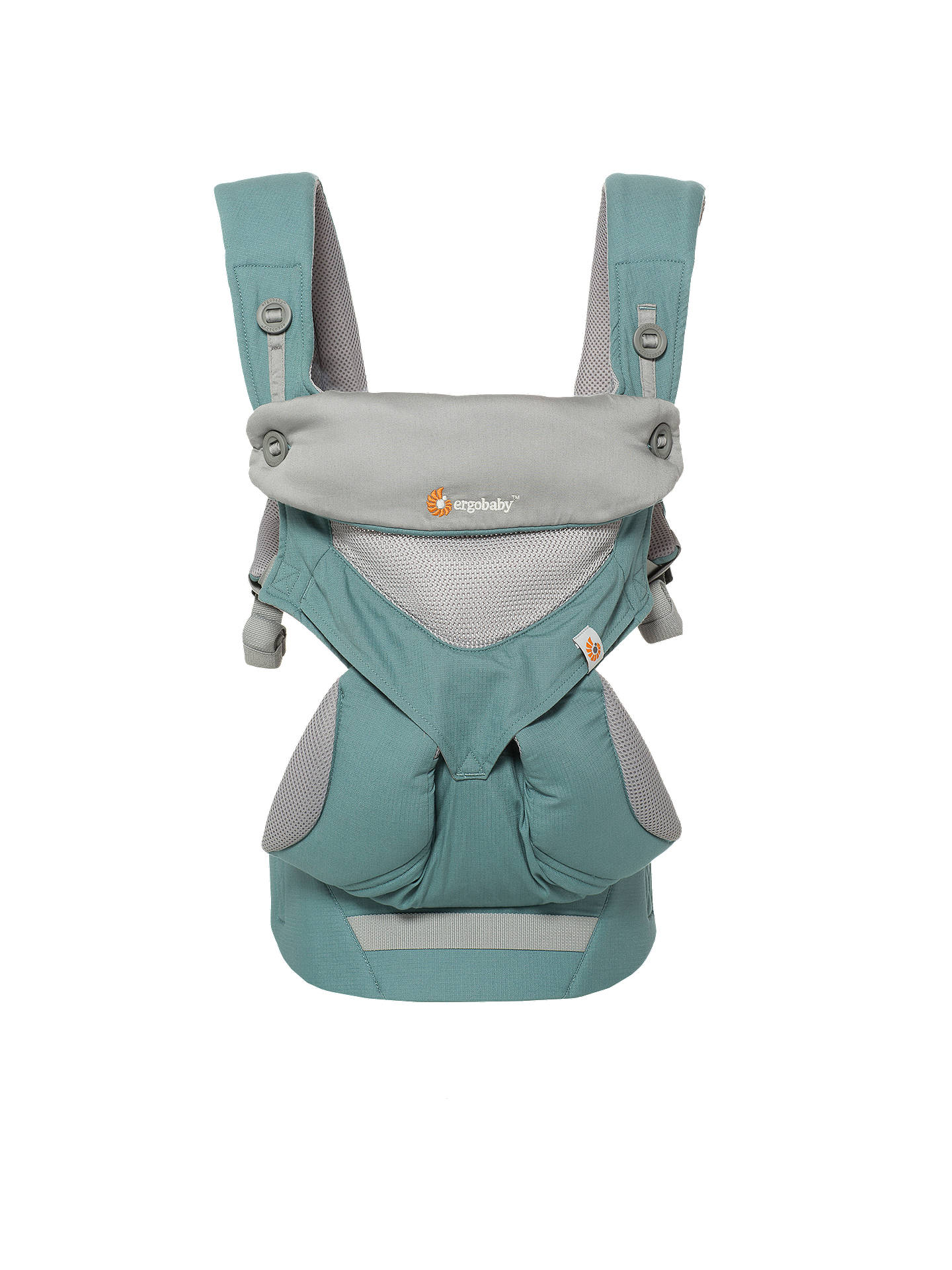 Ergobaby 360 Cool Air Baby Carrier Mint Green At John Lewis Partners