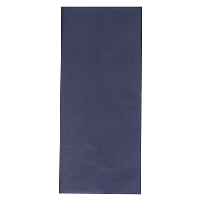 Image of John Lewis Tissue Paper, 5 Sheets, Navy