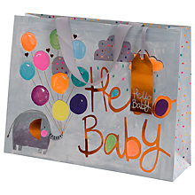 Buy Paper Salad Hello Baby Large Gift Bag Online at johnlewis.com