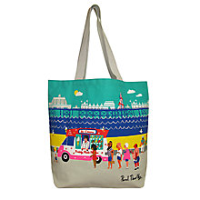 Buy John Lewis National Treasures Beside The Seaside Shopper Bag Online at johnlewis.com