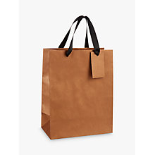 Buy John Lewis Plain Kraft Gift Bag Online at johnlewis.com