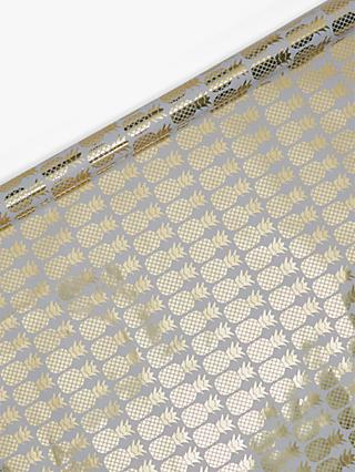 John Lewis Partners Foiled Pineapple Gift Wrap