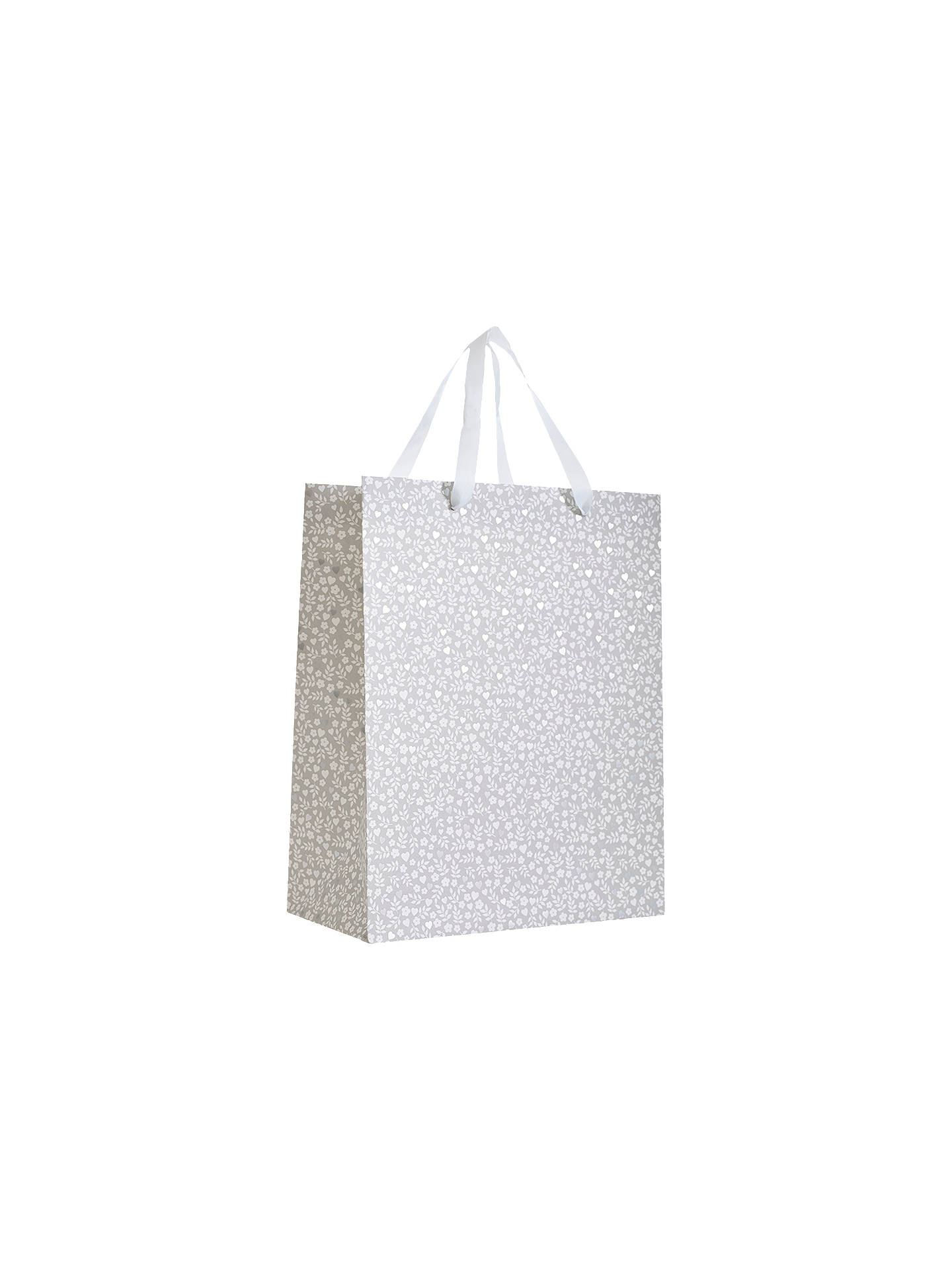 BuyJohn Lewis & Partners Ditsy Wedding Gift Bag, Medium Online at johnlewis.com