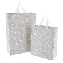 Buy John Lewis Ditsy Wedding Gift Bag Online at johnlewis.com