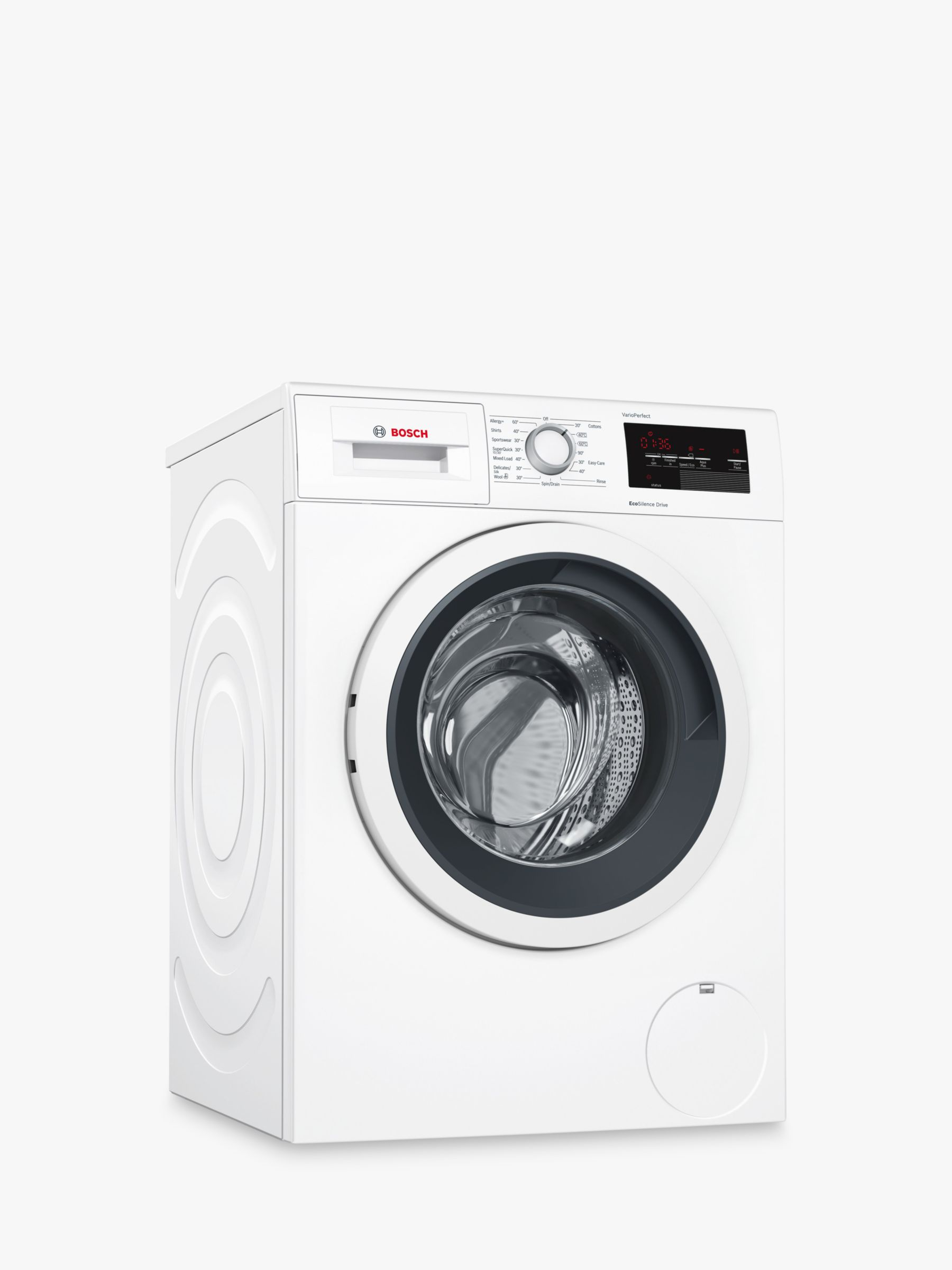Bosch Bosch WAT28371GB Freestanding Washing Machine, 9kg Load, A+++ Energy Rating, 1400rpm Spin, White