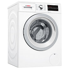Buy Bosch WAT28421GB Freestanding Washing Machine, 8kg Load, A+++ Energy Rating, 1400rpm Spin, White Online at johnlewis.com