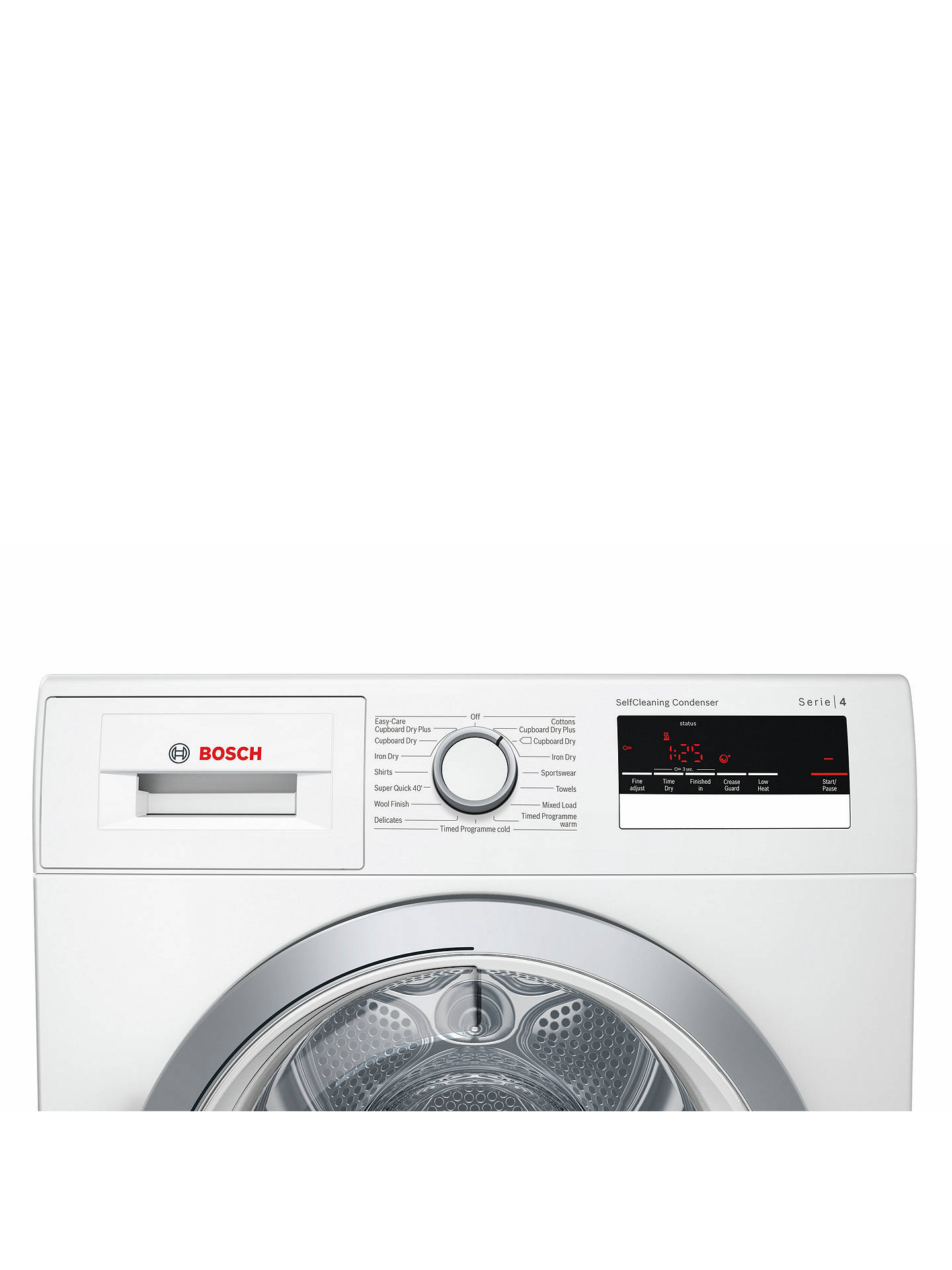 Bosch WTM85230GB Condenser Tumble Dryer with Heat Pump, 8kg