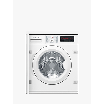 Image of Bosch Serie 8 WIW28500GB 8kg 1400 Spin Built-in Washing Machine A+++