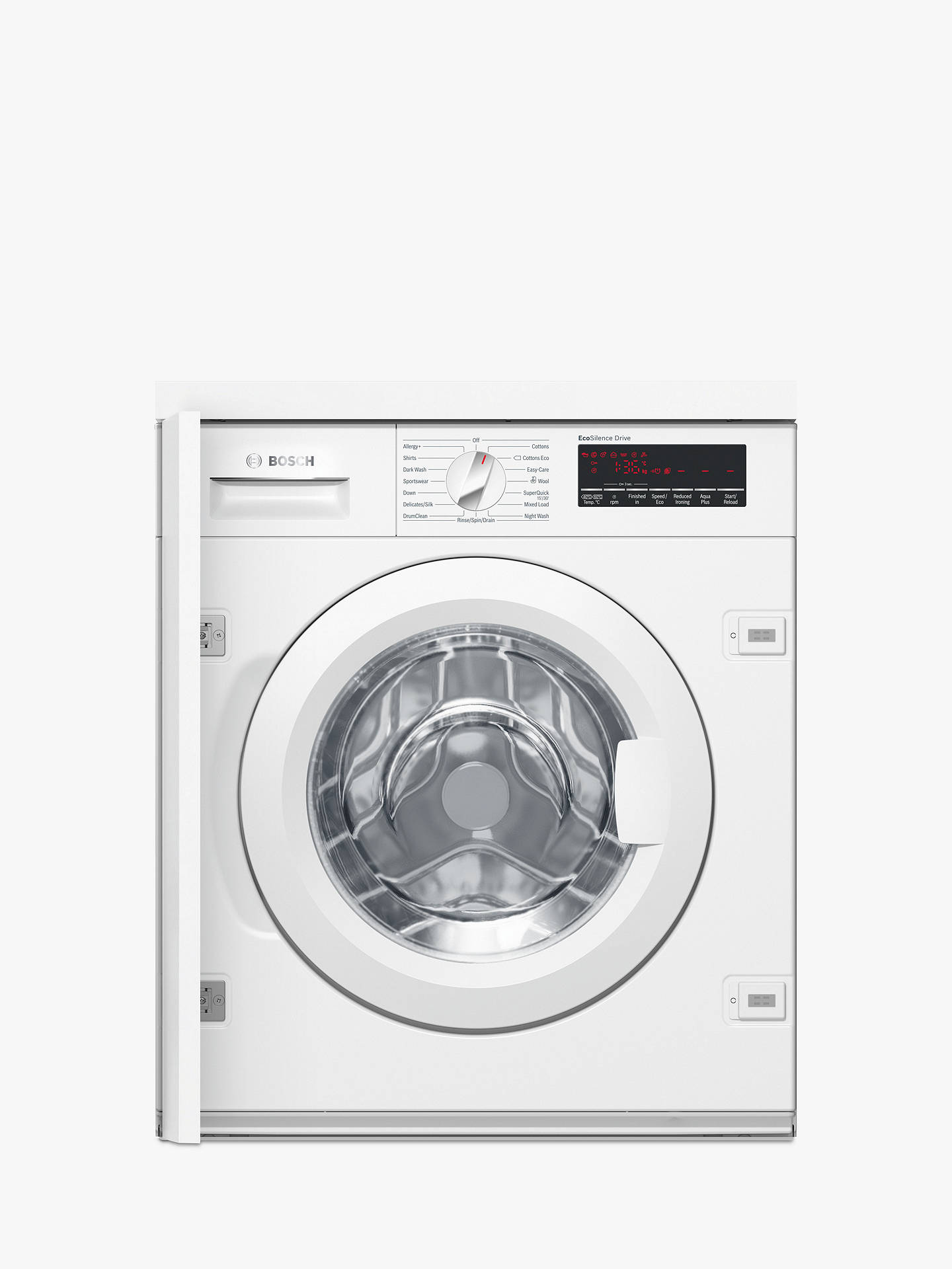 Bosch washing machines: brand features, a review of popular models, tips for buyers 78