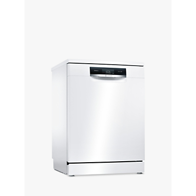 Bosch SMS88TW06G Freestanding Dishwasher, White