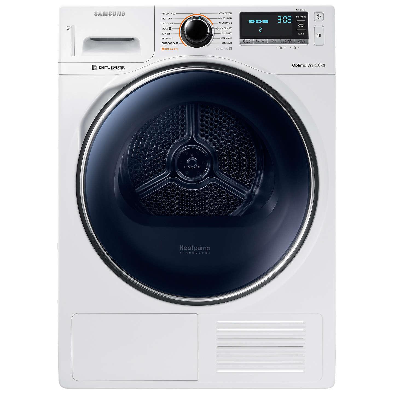 Buysamsung Dv90M8204Aweu Heat Pump Freestanding, Smart Tumble Dryer, 9Kg Load,