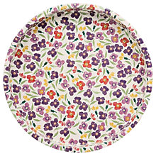 Buy Emma Bridgewater Wallflower Deepwell Round Tray, Multi Online at johnlewis.com