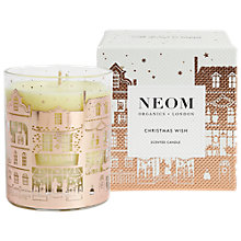Buy Neom Organics London Christmas Wish Candle Online at johnlewis.com