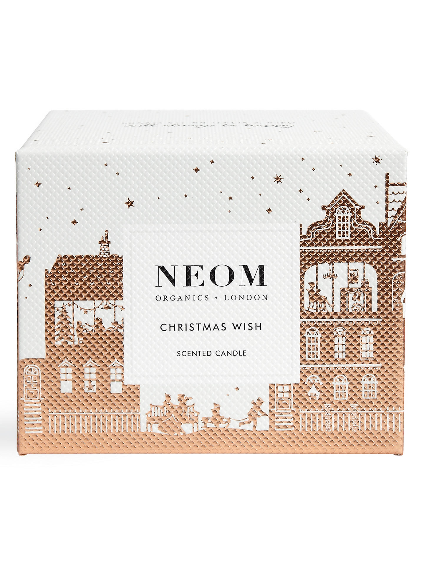 BuyNeom Christmas Wish 3 Wick Candle Online at johnlewis.com