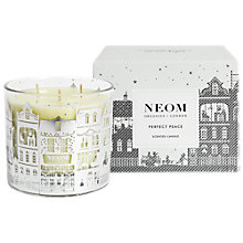 Buy Neom Organics Perfect Peace 3 Wick Candle Online at johnlewis.com