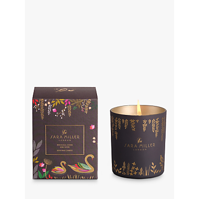 Sara Miller Patchouli, Cedar and Thyme Scented Candle