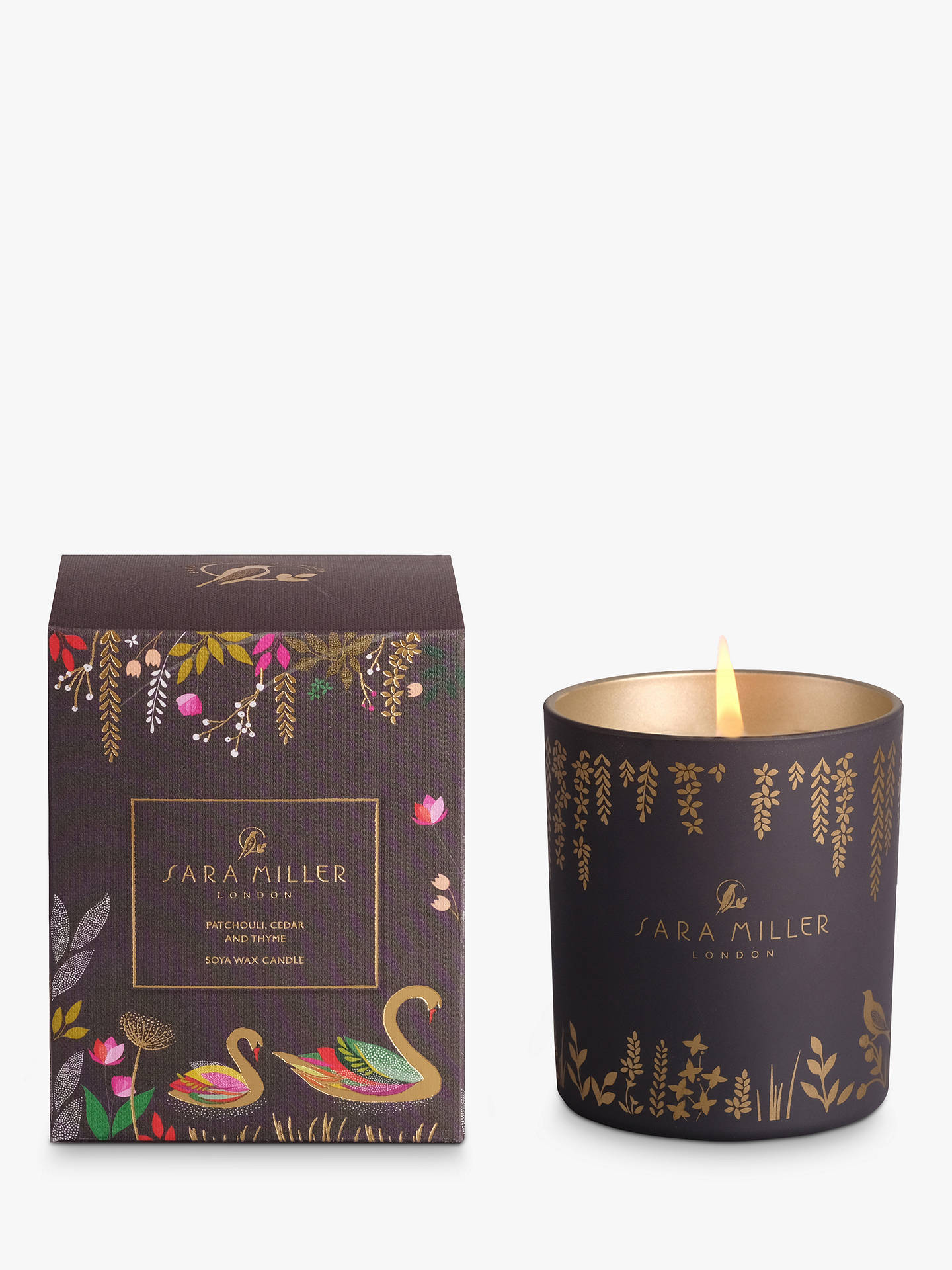 BuySara Miller Patchouli, Cedar and Thyme Scented Candle Online at johnlewis.com