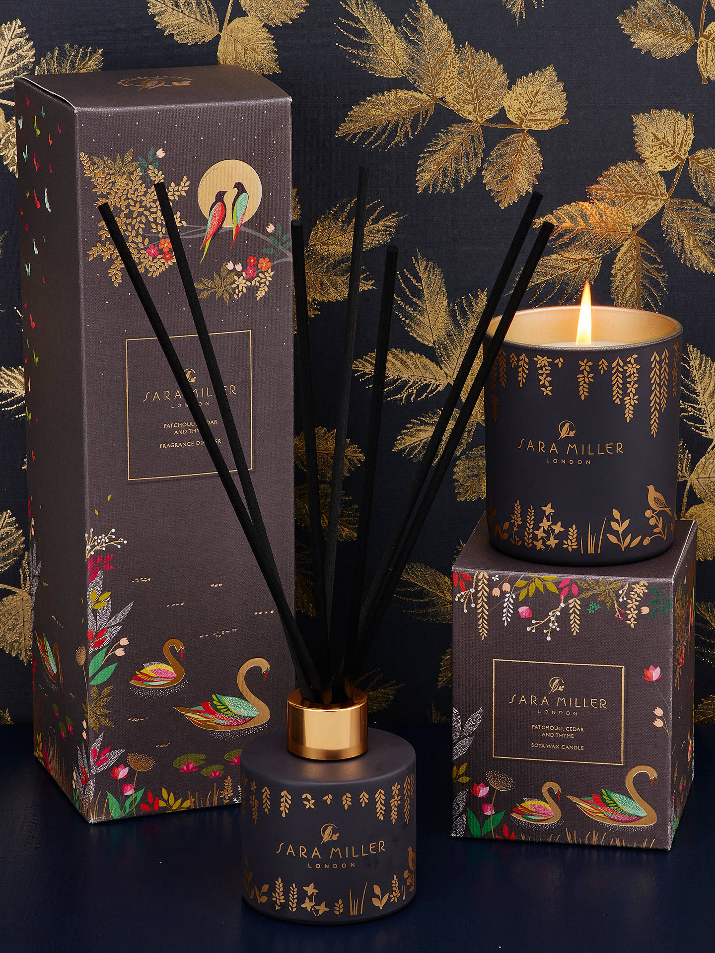 Buy Sara Miller Patchouli, Cedar and Thyme Diffuser, 100ml Online at johnlewis.com