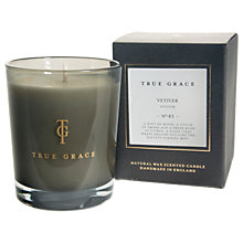 Buy True Grace Vetiver Candle Online at johnlewis.com