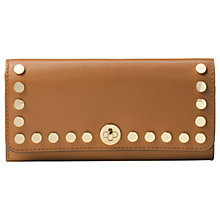 Buy MICHAEL Michael Kors Rivington Studded Leather Wallet Purse Online at johnlewis.com