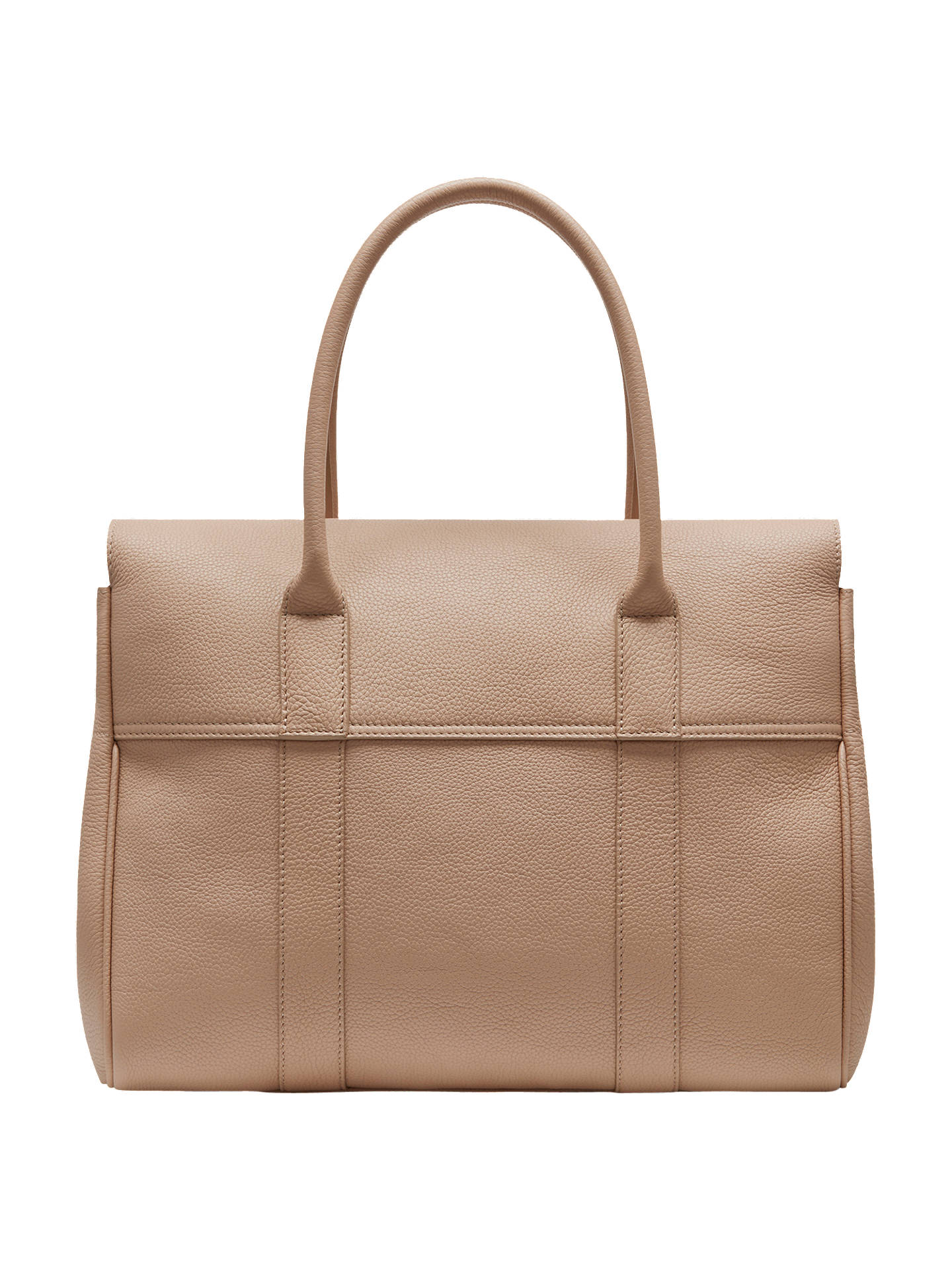 Mulberry Bayswater Small Classic Grain Leather Grab Bag at John ... 26e3dfb95c2ba