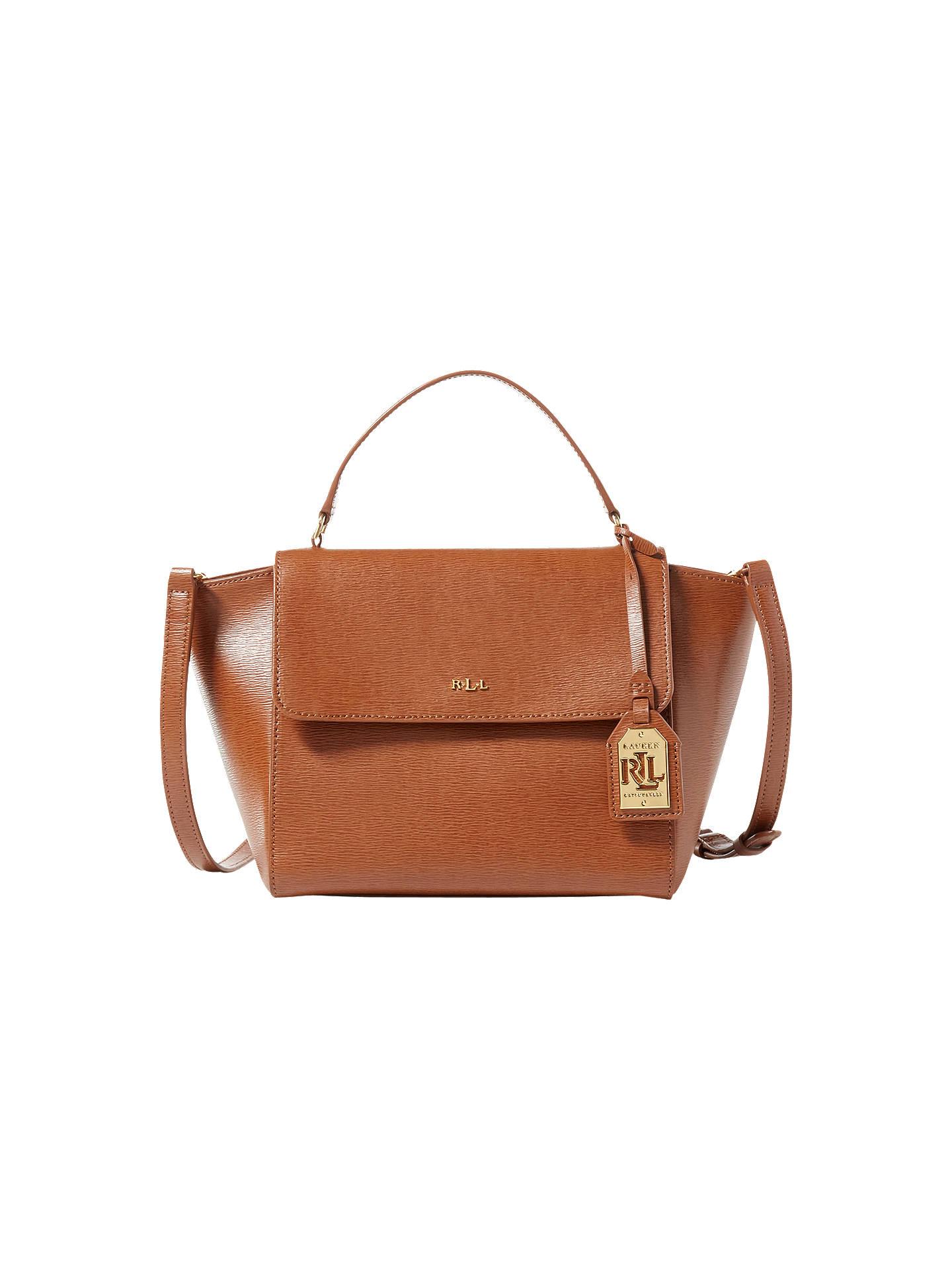 e4185952a45b BuyLauren Ralph Lauren Barclay Leather Crossbody Handbag