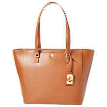 Buy Lauren Ralph Lauren Halee Tote Bag, Lauren Tan Online at johnlewis.com