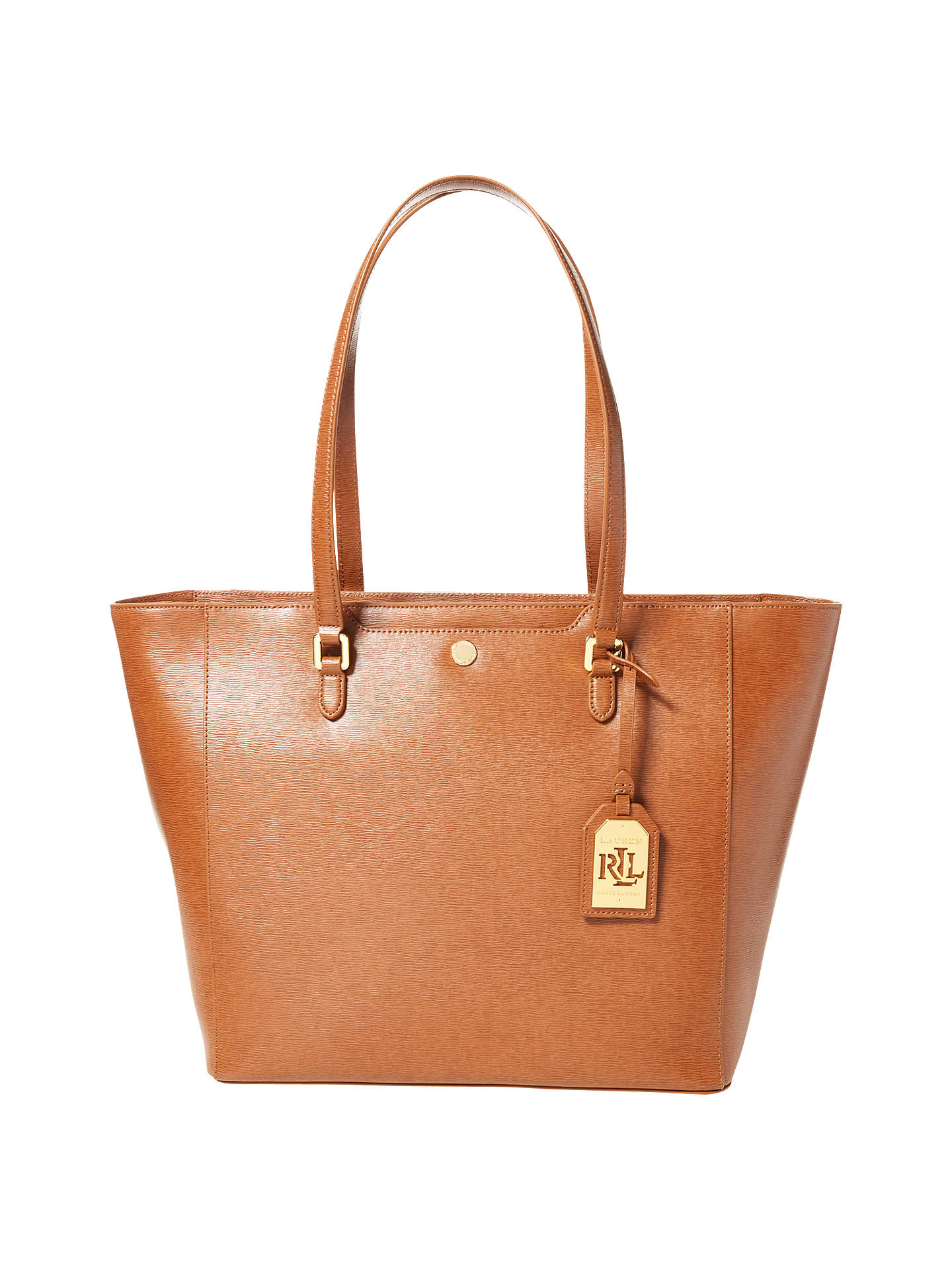 262512ff49 ... czech buylauren ralph lauren halee tote bag lauren tan online at  johnlewis 71dd9 57588