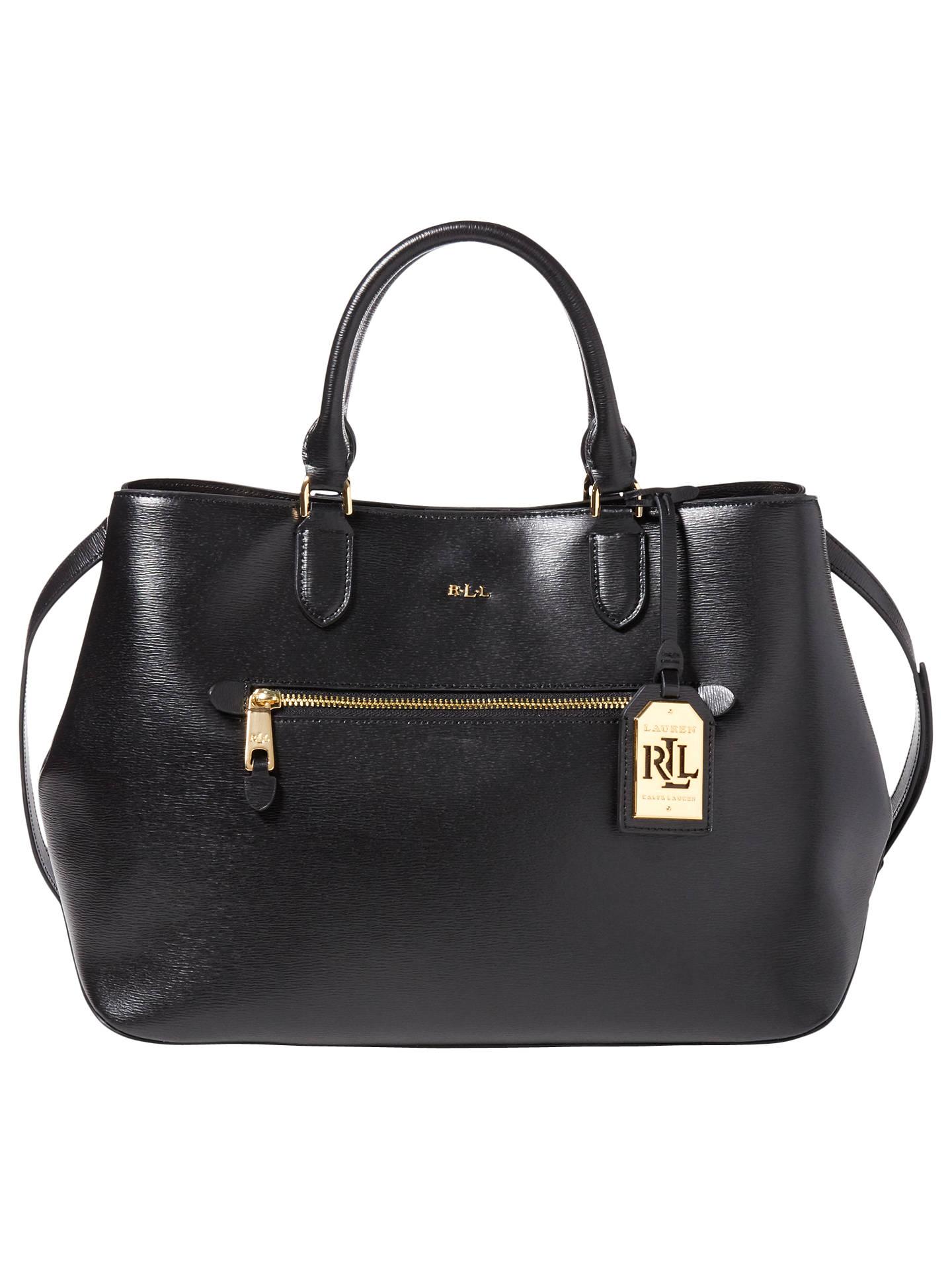 2c94019a5f Buy Lauren Ralph Lauren Saffiano Sabine Satchel Bag
