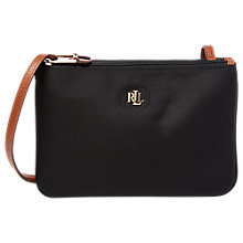 Buy Lauren Ralph Lauren Tara Cross Body Bag, Black Online at johnlewis.com