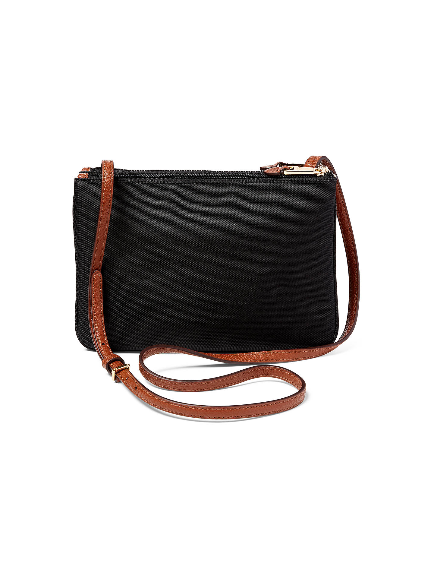 e5f2d1ac38f ... BuyLauren Ralph Lauren Tara Cross Body Bag, Black Online at  johnlewis.com ...