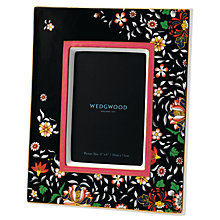 "Buy Wedgwood Wonderlust Oriental Jewel Picture Frame, Black/Multi, 4 x 6"" (10 x 15cm) Online at johnlewis.com"