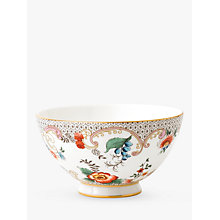 Buy Wedgwood Wonderlust Rococo Bowl, White/Multi, Dia.11cm Online at johnlewis.com