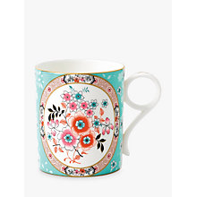 Buy Wedgwood Wonderlust Camelia Small Mug, Blue/Multi, 250ml Online at johnlewis.com