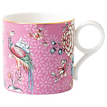 Buy Wedgwood Wonderlust Crane Large Mug, Lilac/Multi, 270ml Online at johnlewis.com