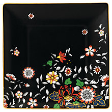 Buy Wedgwood Wonderlust Oriental Jewel Tea Tray, Black/Multi, 14.5cm Online at johnlewis.com