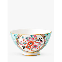 Buy Wedgwood Wonderlust Camellia Bowl, Blue/Multi, Dia.11cm Online at johnlewis.com
