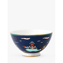 Buy Wedgwood Wonderlust Pagoda Bowl, Blue/Multi, Dia.11cm Online at johnlewis.com
