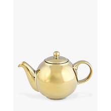 Buy London Pottery Globe 4 Cup Teapot, 1.1L, Gold Online at johnlewis.com