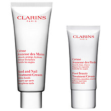 Buy Clarins Hand & Foot Treatment Kit Online at johnlewis.com